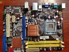 Для asus p5kpl-am se оригинальный используется для рабочего материнская плата для intel g31 сокет lga 775 ddr2 4 г sata2 usb2.0 uatx