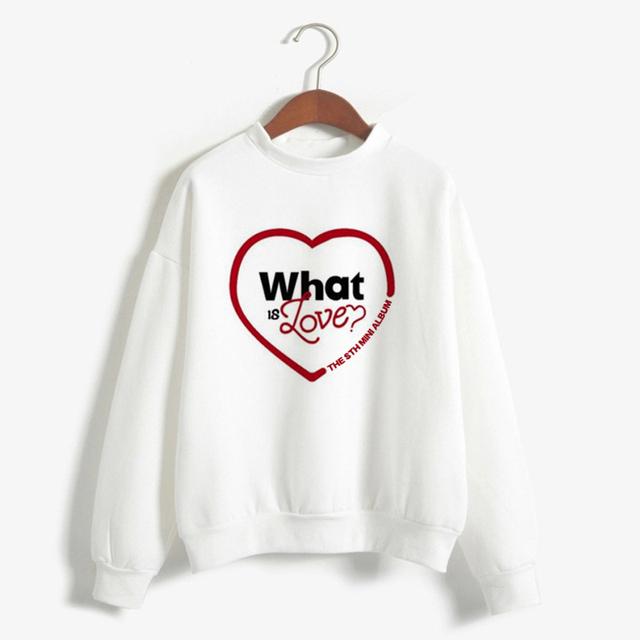 TWICE WHAT IS LOVE SWEATSHIRT (7 VARIAN)