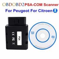 PSA COM Bluetooth OBD2 Car Diagnostic Interface PSA COM Support Airbag ECU Key K Line For