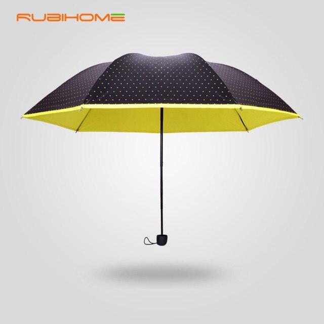 2015 НОВЫЙ Летний стиль sombrillas уф Вс/Дождь Прочный зонты женщины женский три складной с точкой в убыток горячие продажа с 5%