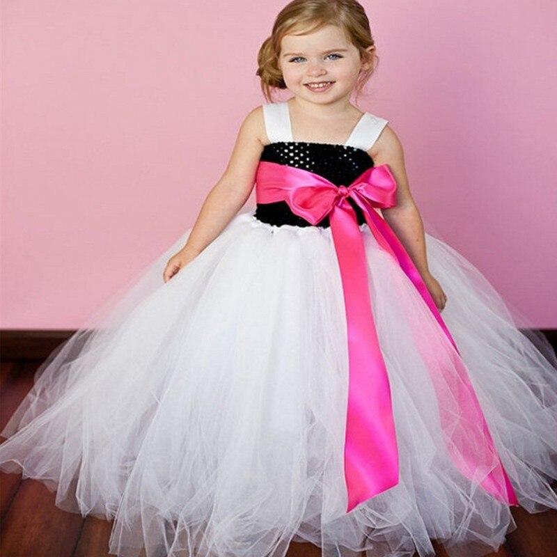 New Kids Wedding Dresses Tutu Ball Gown Girls Party Dress Kids Robe ...