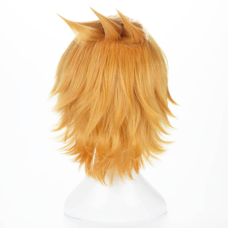 Image 4 - Boku no Hero Academia Kaminari Denki Wig Cosplay Costume My Hero Academia Men & Women Short Synthetic Hair Party Role Play Wigs-in Anime Costumes from Novelty & Special Use