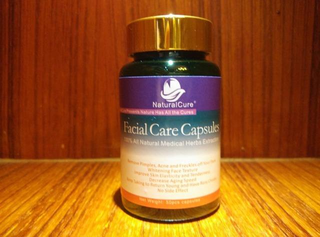 NaturalCure Caps-dulos de Cuidado de La Piel, eliminar Las Espinillas, acné y Pecas, claro Los Puntos Negros en la Zona T, Cuidado de La Piel Natural Medicina