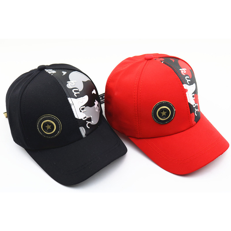 Korean New Baseball Cap Wholesale Color Matching Cute Baby Summer Shade Children 39 s Hat Outdoor Fashion Baseball Hat For Boy Girl in Men 39 s Baseball Caps from Apparel Accessories
