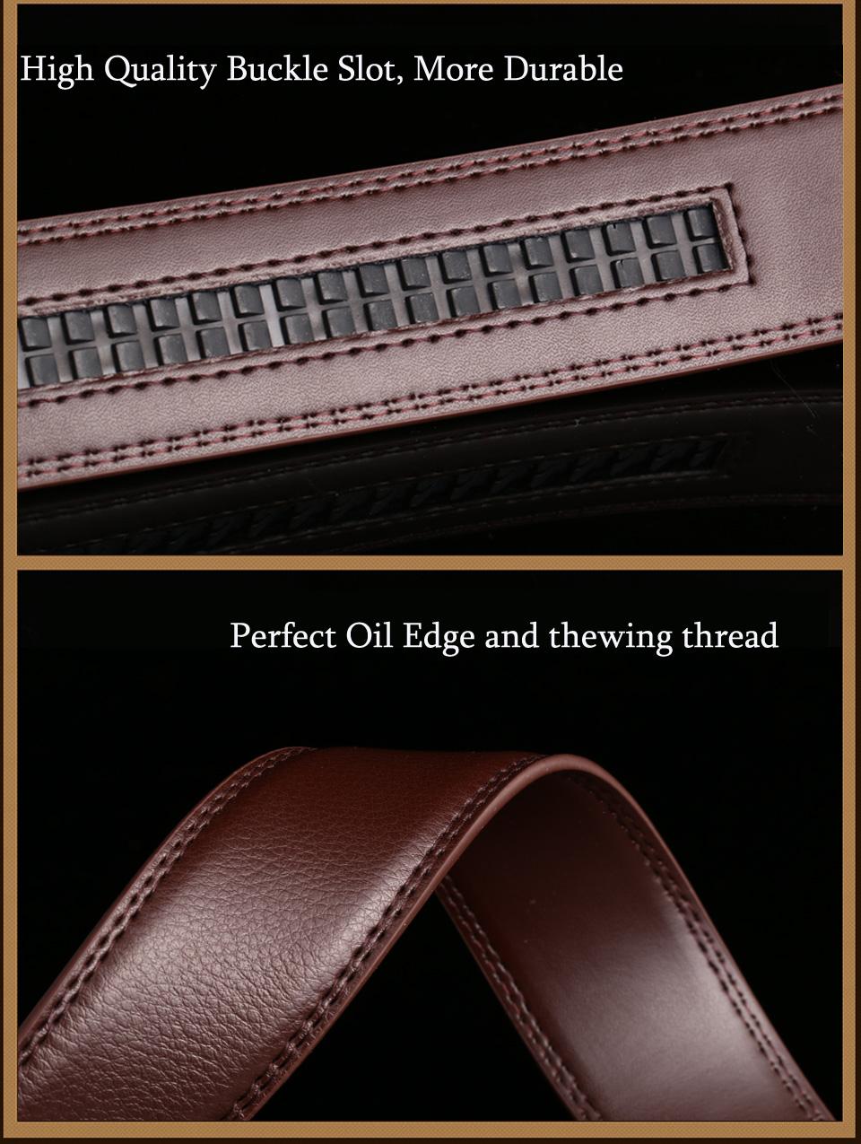 19 men leather belt