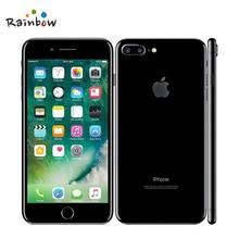 Apple iPhone 7 Plus, заводской разблокированный мобильный телефон, 12 МП, две камеры, широкоугольный, 4G LTE, 5,5 дюймов, четырехъядерный, A10, 3G ram, 128G rom