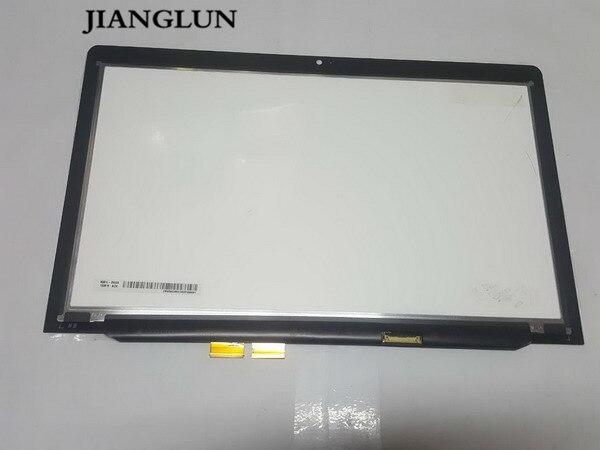 JIANGLUN écran lcd + Écran Tactile En Verre + Assemblée Lunette pour Lenovo Thinkpad S1yoga12 LP125WF2-SPB1 X240