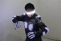 Бесплатная доставка Высокий светодио дный свет мигающий светодиодный лазерный Броня очки перчатки светодио дный светодиодный световой ла