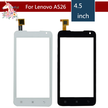 4.5 For Lenovo A526 / A 526 LCD Touch Screen Digitizer Sensor Outer Glass Lens Panel Replacement 4 5 for lenovo a516 a 516 lcd touch screen digitizer sensor outer glass lens panel replacement