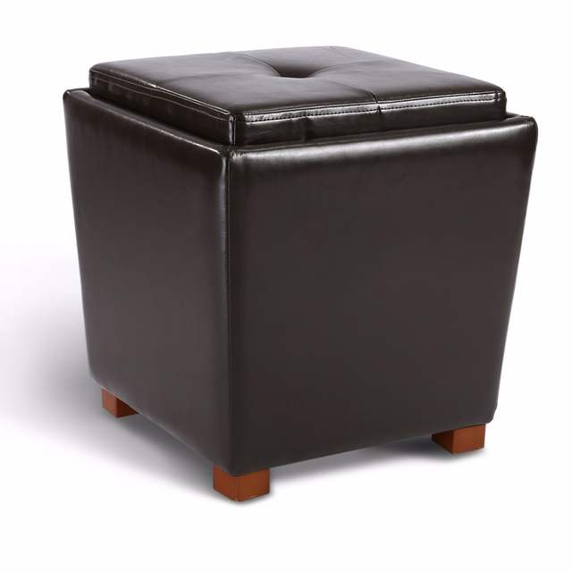 Phenomenal Langria 2 Piece Nesting Faux Leather Ottoman Set With Legs Alphanode Cool Chair Designs And Ideas Alphanodeonline