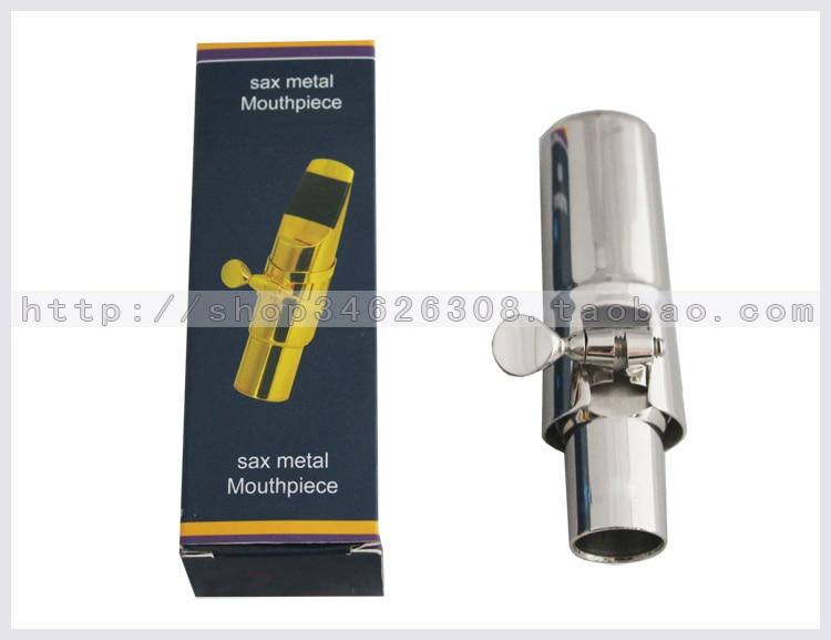ФОТО Silver plated Alto Saxophone Sax Mouthpiece Size #6