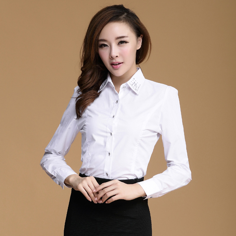 Online buy wholesale french cuff blouse from china french for French cuff shirts cheap