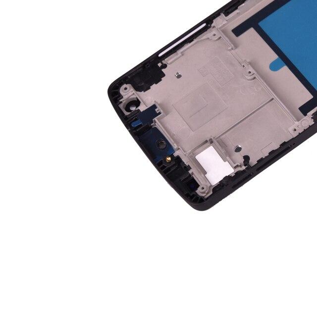 Original lcd para LG Google Nexus 5 d820 d821 pantalla LCD con pantalla táctil y Marco digitalizador envío gratis