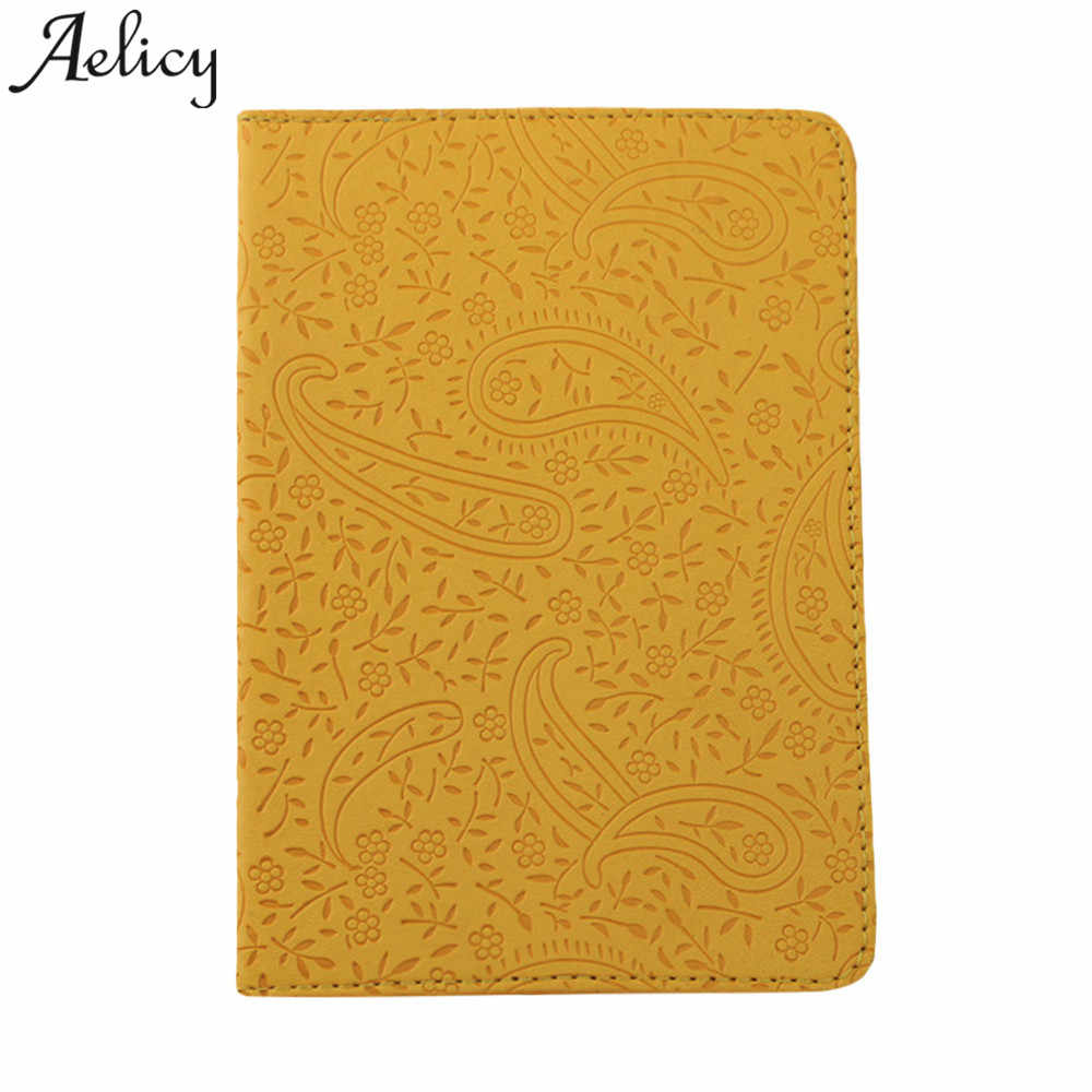 Aelicy 2018 Hot New Fashion Light High Quality Women Men Passport Holder Protector Wallet  Card Holder Soft Passport Cover