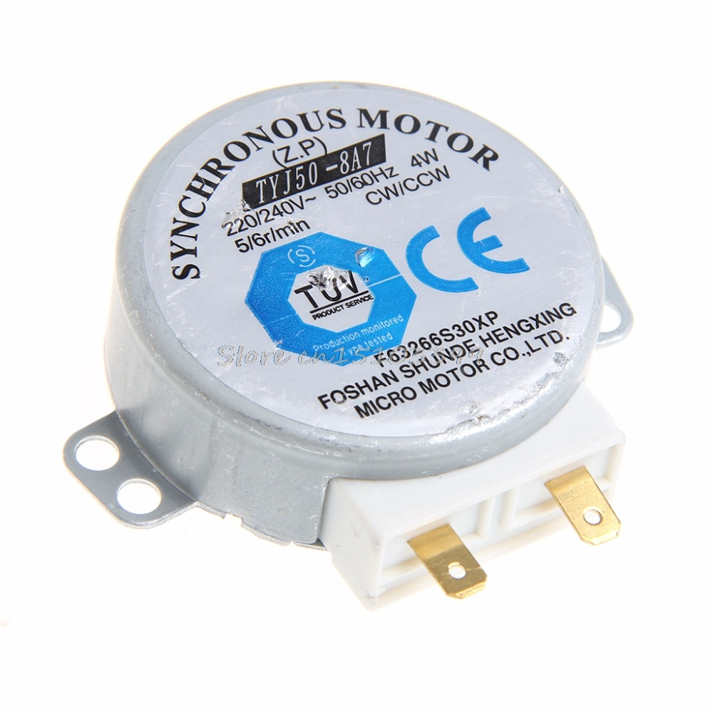 CW//CCW Mini Turntable Turn Table Synchronous Motor F Microwave Oven TYJ50-8A7