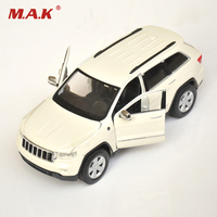 1 24 Maisto 2011 Jeep Grand Cherokee Golden White Red Diecast Car Model Toys For Boys
