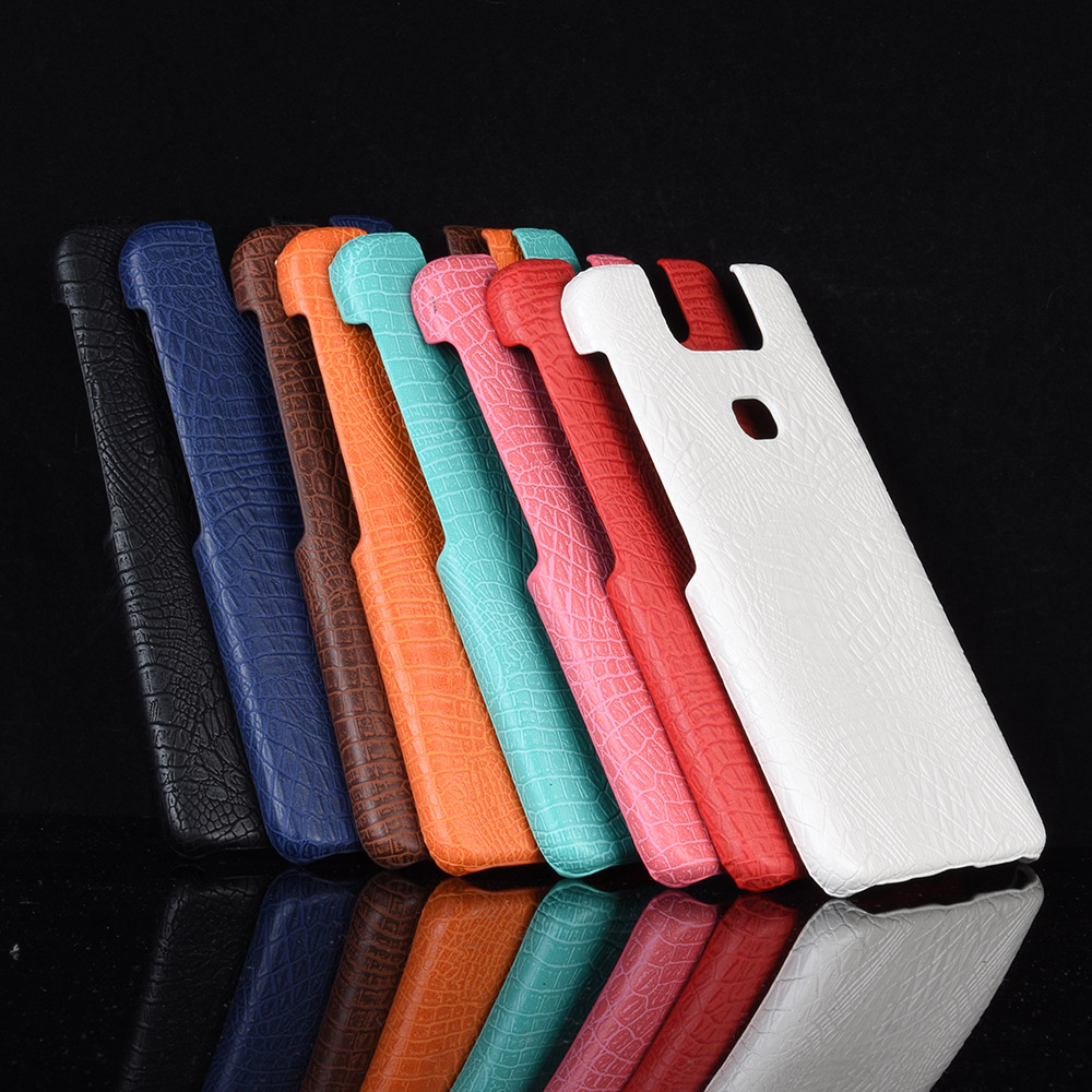 Zenfone Max Pro M2 ZB631KL PU Leather Back Cover Phone Bumper Fitted Back Case For ASUS Zenfone Max M2 ZB633KL 6 ZS630KL