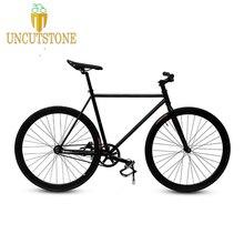 Fixie велосипедная неподвижная передача велосипед 700C спортивный велосипед 30 мм обод 52 см 48 см рама шоссейный велосипед с передним V тормозом