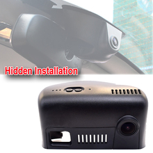 Phone wifi Car DVR 1080P HD 170 Degree Dash Cam Video Recorder Mirror handle dvr For 2015 Jeep Grand Cherokee&Cherokee