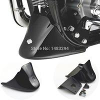Black Front Bottom Spoiler Mudguard Cover Kit Fits For Harley Sportster 1200 XL Iron 883 2004