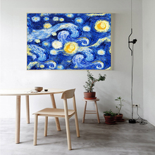 Vincent Van Gogh Starry Night Oil Painting Poster