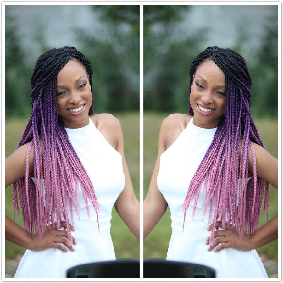 1piece Ombre Kanekalon Jumbo Braiding Hair Colors Gray