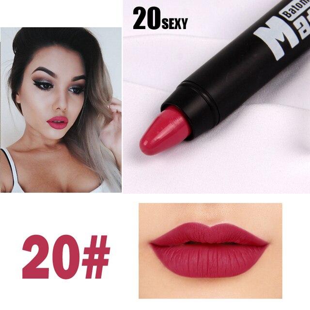 8 Colors MISS ROSE Brand Lipstick Nude Lip Kit Long Lasting Lipgloss Lip Pigment Velvet Lipstick Matte Lip Tint Set Batom Stick 4