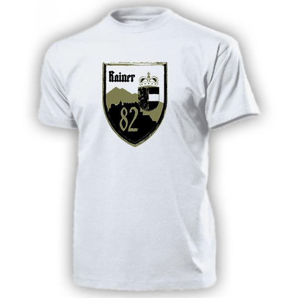 2018 Men Cool Tee Shirt LWSR 82 Landwehrstammregiment Rainerkaserne Salzburg Osterreich - T Shirt  Summer T-shirt