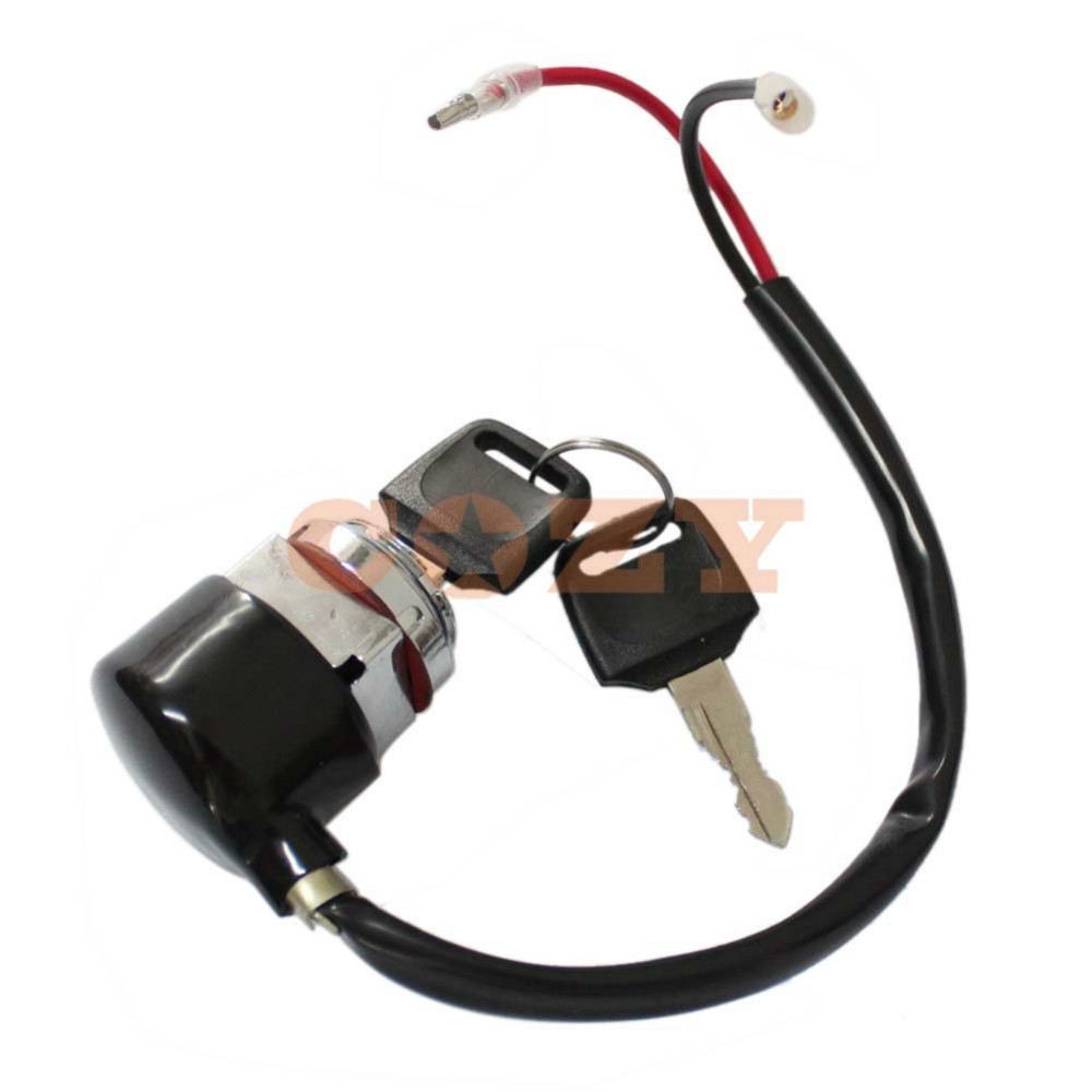 2 Wire Ignition Key Switch For Honda CB100 CL100 SL100 SL125 for ...