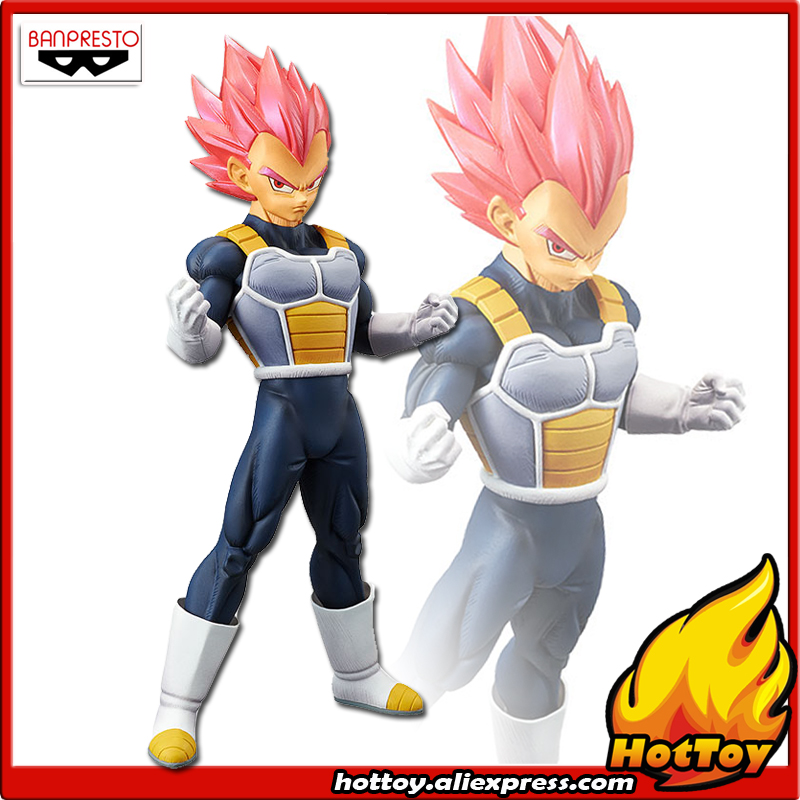 Dragonball Choukoku God Vegeta PVC Figure Banpresto 100/% authentic