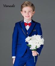 Custom Made Boys Suit Wedding Formal Tuxedos Kids Prom Suit Flower Suits 3 piece set new style kid party graduation suit wedding page boy tuxedos custom made 2 piece
