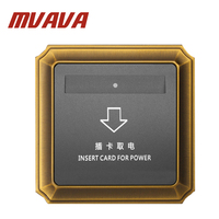 Hotel Card Switch Energy Saving Insert Card For Power Wall Switch For Room Card Luxury Top