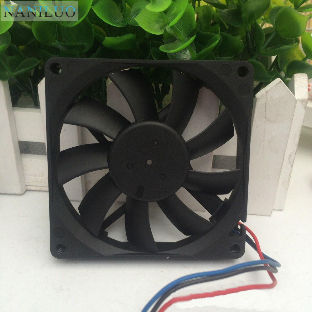 NANILUO For 8015 AFB0812VHB 8cm <font><b>80X80X15</b></font> mm 80MM 8*8*1.5CM 12v 0.30a cpu computer case cooling <font><b>fan</b></font> double ball image