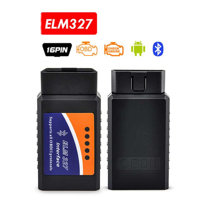 ELM327 Bluetooth ELM 327 Wifi/ELM327 USB v1.5 destek OBDII OBD2 teşhis aracı 1.5 araba tarayıcı kod okuyucu otomatik CAN-BUS