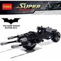 Decool 7115 caballero negro bat-pod compatible legoes 5004500 super heroes batman bloques de construcción de juguetes para los niños
