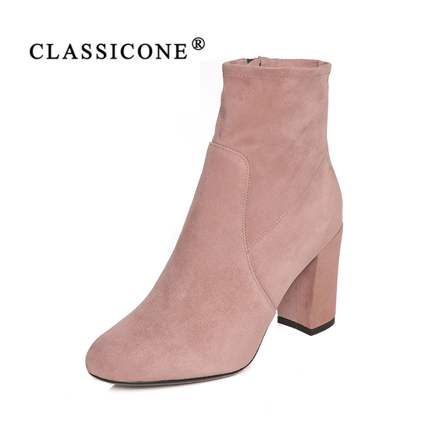 women shoes spring autumn woman ankle boots high heel pumps genuine leather fashion brand style designersluxury sexy CLASSICONEwomen shoes spring autumn woman ankle boots high heel pumps genuine leather fashion brand style designersluxury sexy CLASSICONE
