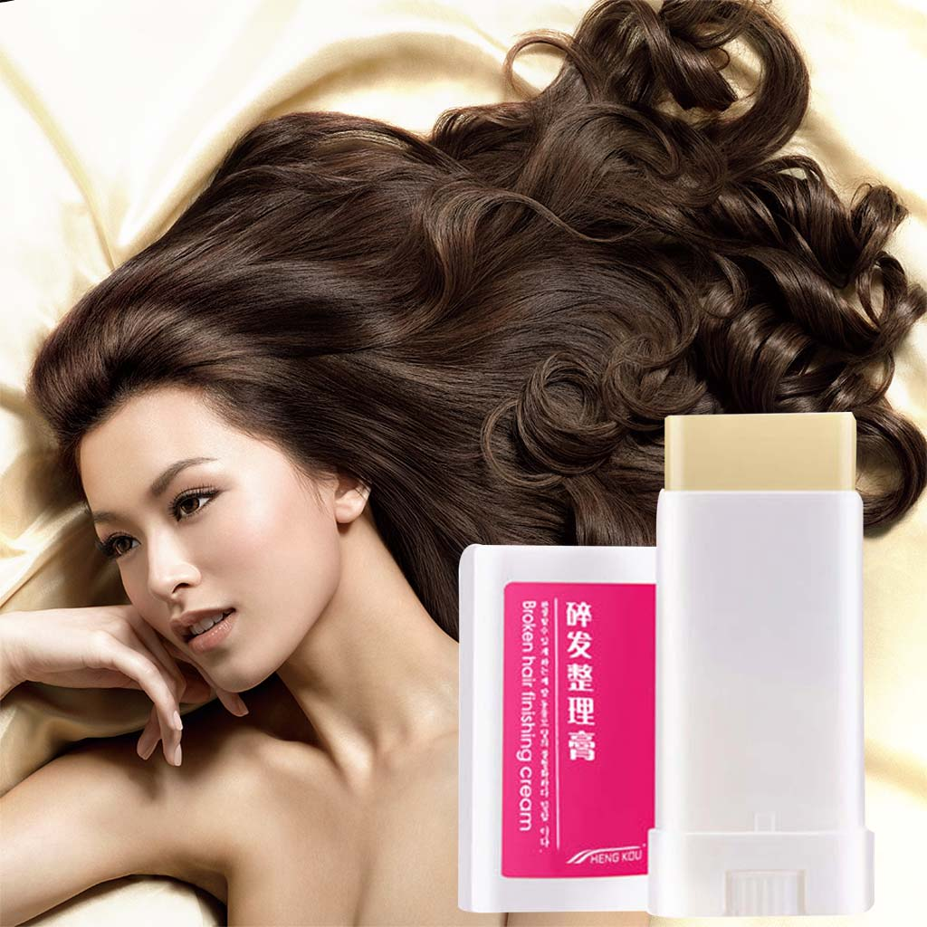 NEW  Practical Women Small Broken Hair Finishing Cream Portable Refreshing Styling Fix Wax Stick Lasting Modeling Hair Wax