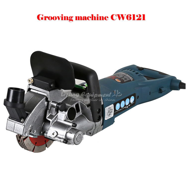 CW6121 Multifunction Wall Groove Cutting Machine Wall Groove Machine Wall Chaser Machine For Brick & Granite Marble & Concrete no tax cw6121 multifunction wall groove cutting machine wall groove machine wall chaser machine for brick