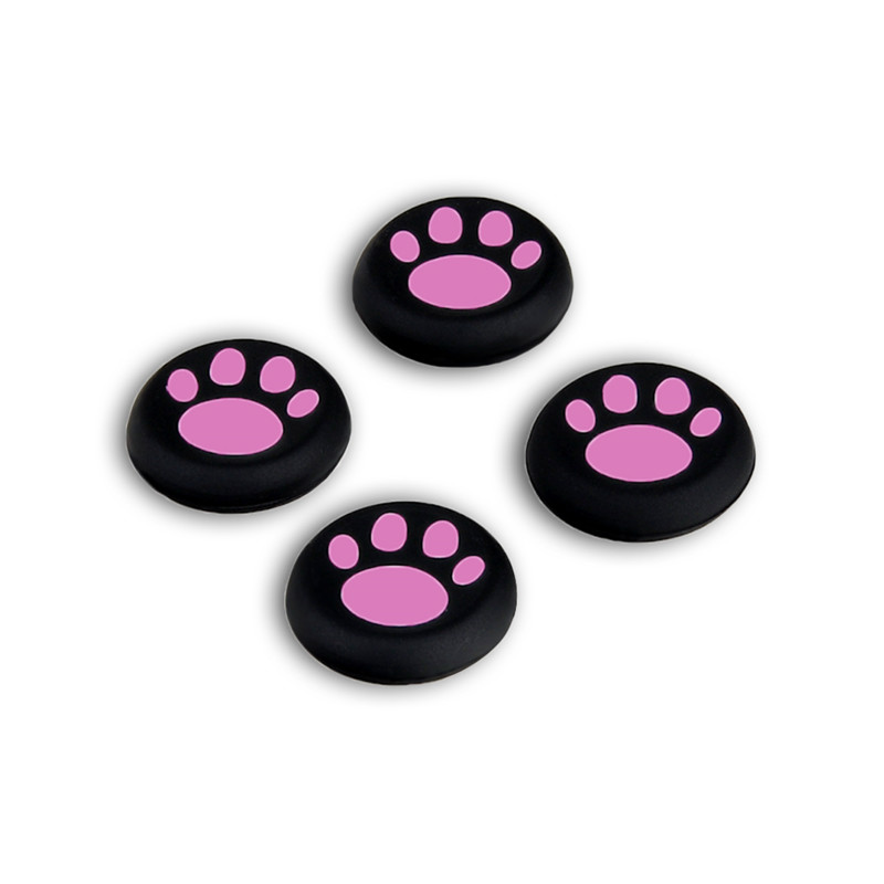 10 Pairs/20 PCS Replacement Silicone Game Controller Gamepad Sticker Controller Thumb Stick Caps for PS4 PS3 Xbox One/360