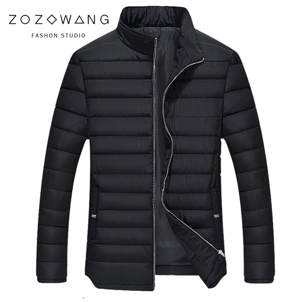 b 2018 Fashion Winter New Jacket Men Warm Coat Fashion Casual   Parka   Thickening Coat Men For Winter Plus Size 3XL-9XL