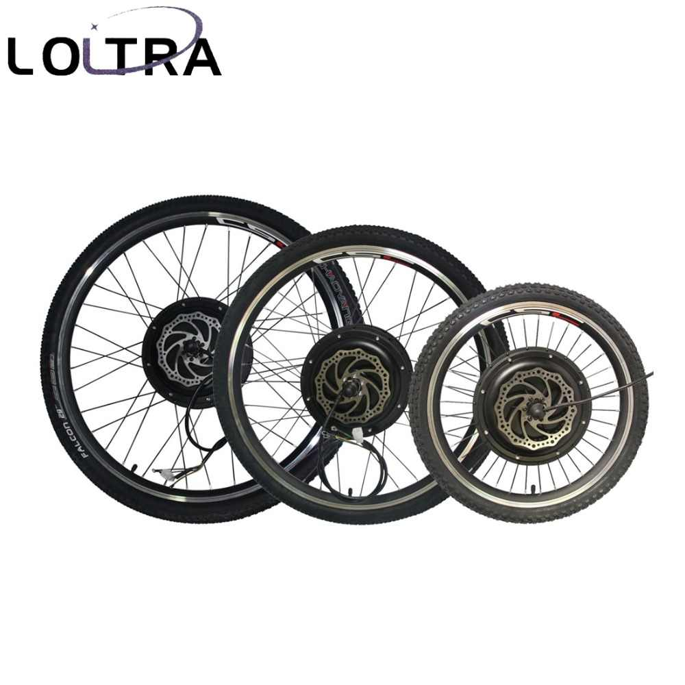 "MTB набор преобразования для электрического велосипеда с KT-LCD3 Дисплей 250/500/1000/1500W 20 ""24"" 26 ""27,5"" 29 ""Электрический горный велосипед Conversion Kit"
