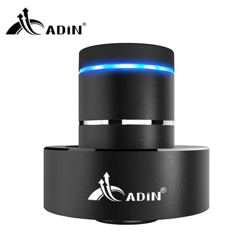 ФОТО ADIN 26W Metal Vibration Bluetooth Speaker Subwoofer NFC Touch HIFI Portable Mini Wireless Speaker 360 Stereo Sound Loudspeakers