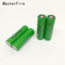 MasterFire 8PCS/LOT 100% Original VTC6 3.7V 3000mAh 18650 Lithium Battery 30A Discharge For Sony US18650VTC6 Flashlight Tools