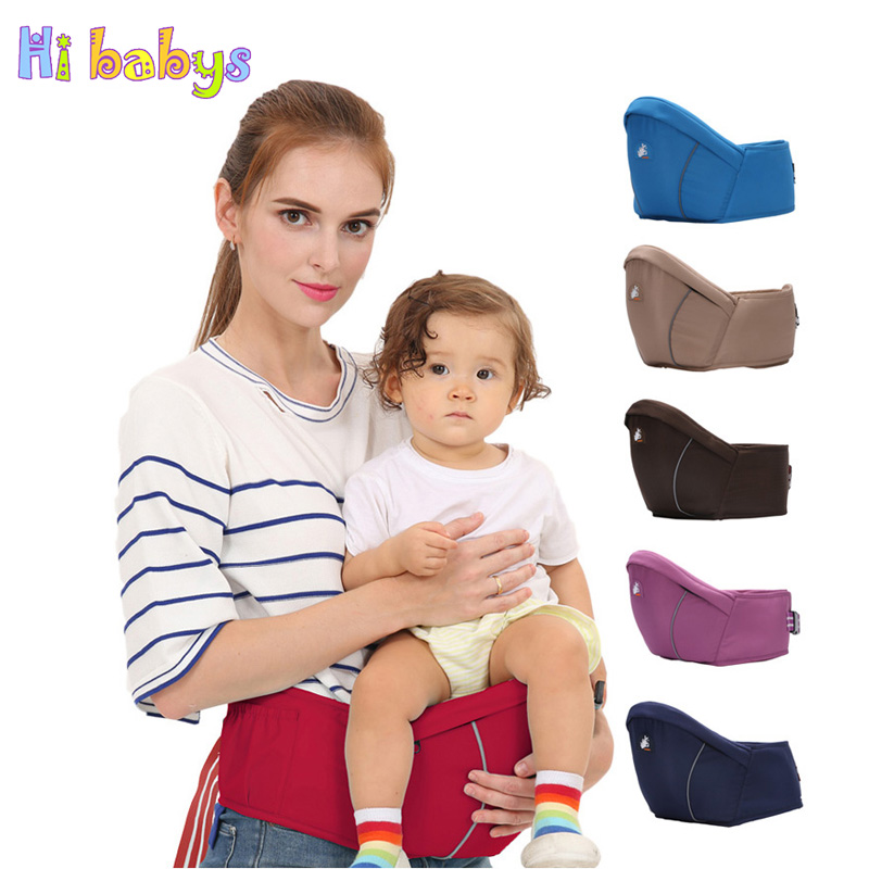 Newborn Waist Stool Baby Carrier For Kangaroo Suspenders Multifunction Infant Hipseat Baby Sling Hold Backpack Kids Hip Seat 2016 hot portable baby carrier re hold infant backpack kangaroo toddler sling mochila portabebe baby suspenders for newborn