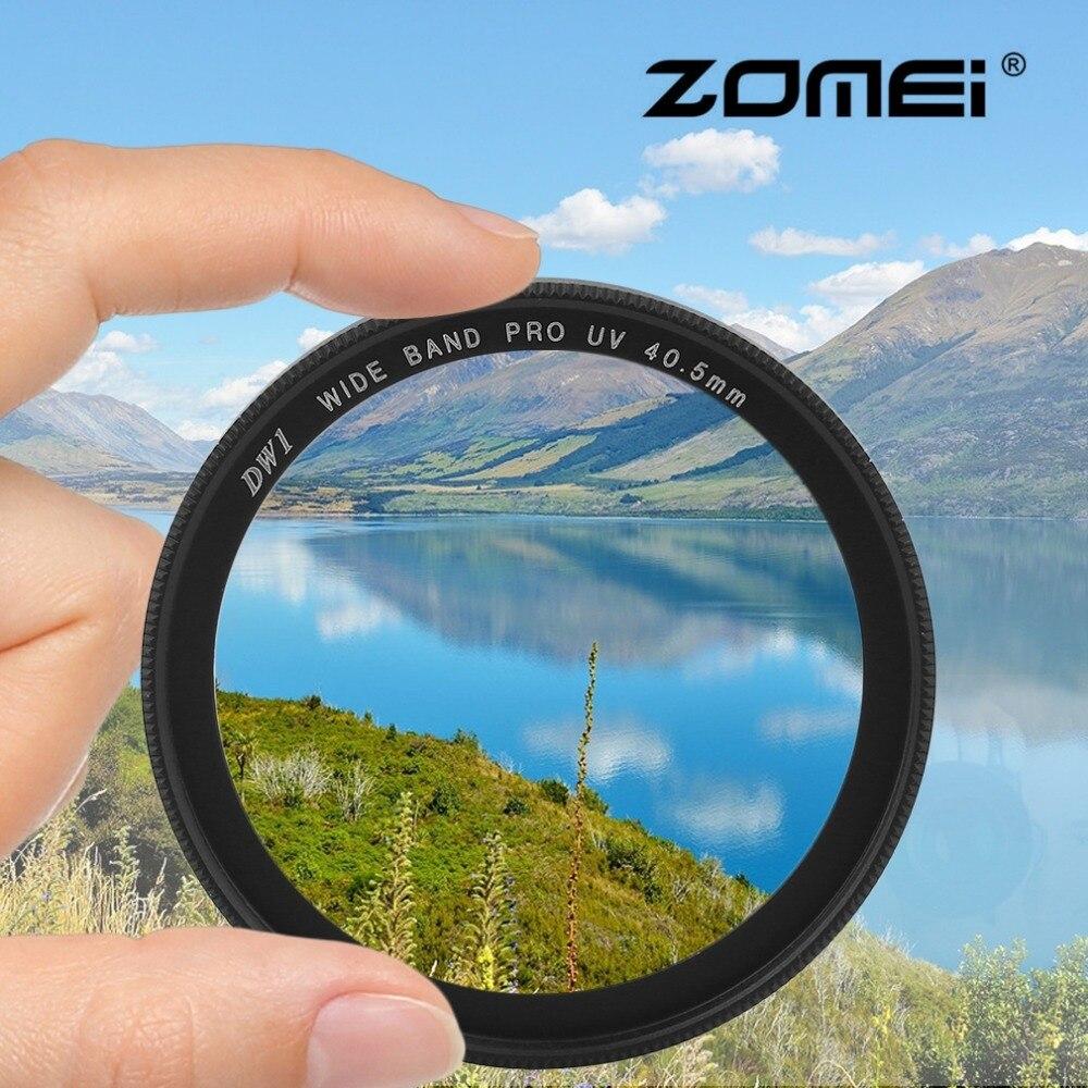 Quadro Padrão Camera Filtro UV Proteger Zomei Filtro Para Canon Nikon Sony 40.5mm 49mm 52mm 55mm 58mm 62mm 67mm 72mm 77mm 82mm