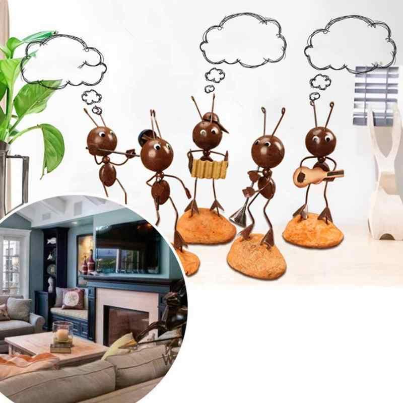 Новинка 5 шт./компл. инновационная мебель милый кованый муравей предметы мебели маленькие украшения страна аксессуары для дома