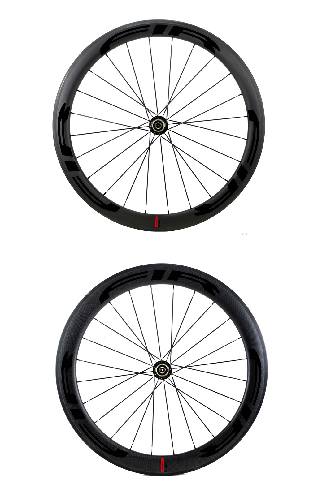 25mm Road bike wheels black11_