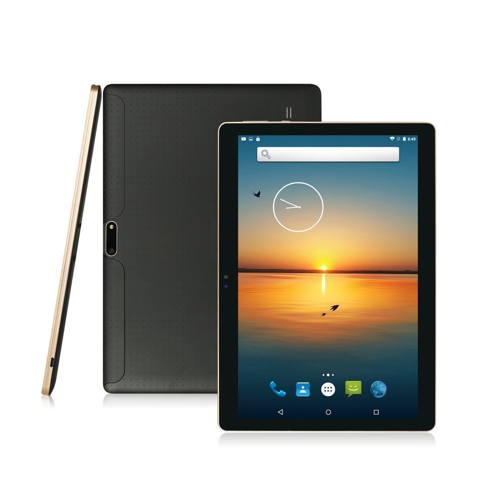 10 inch Tablet PC Octa Core 4GB RAM 32GB ROM Dual SIM Cards Android 5.1 GPS 3G 4G LTE Tablet PC <font><b>MTK8752</b></font> WIFI 1280*800 Pixel image