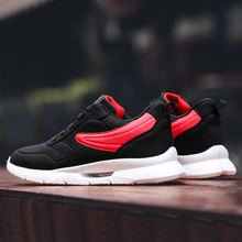 LAISUMK 2019 New Men Sneakers Mesh Shoes Spring/Autumn Fashion Footwear Breathable Lace up Flats Casual 39-45