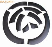 Golfliath pp материал серого цвета колеса лоб один комплект ель для Audi Q7 2011 2012 2013